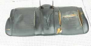 1965 1966 Mustang Front Bench Seat Bottom Lower Black
