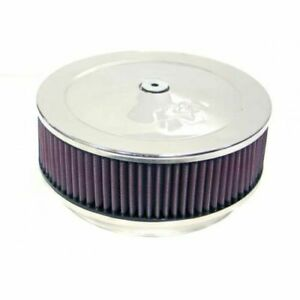 K N Filters 60 1370 Dominator Custom Round Air Cleaner Filter Assembly