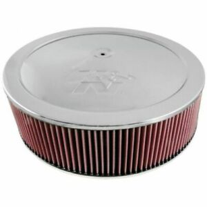 K N Filters 60 1642 Dominator Custom Round Air Cleaner Filter Assembly