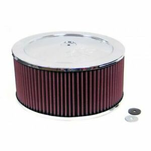 K N Filters 60 1240 Dominator Custom Round Air Cleaner Filter Assembly