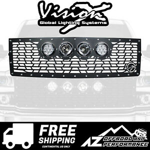 Vision X Light Cannon Vs Grille W Lights For 14 15 Chevy Silverado 1500 Z71