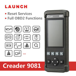 Launch Creader Cr9081 Obd2 Ii Can Auto Diagnostic Scanner Tool 11 Reset Function