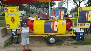 Good Condition 2006 3 X 8 Famous Willy Dog Hot Dog Cart For Sale In Illinois