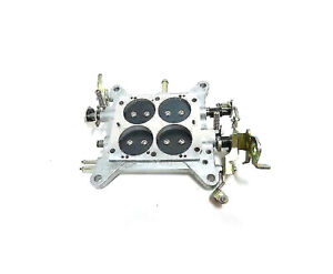 High Performance 850 Carburetor Base Plate Holley Quick Fuel Double Pumpers