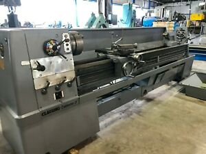 21 x120 cc Clausing Colchester Engine Lathe 3 Hole In mm Threading
