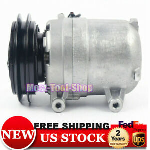 Ac Compressor For Nissan Frontier Xterra Xe Se 2 4l 1998 2004 68455 Us New