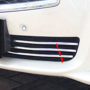 Xukey Car Chrome Strips Door Fog Light Cover Trim Body Decorative Strip Moulding