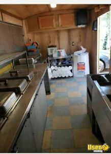 7 X 17 Food Hot Dog Concession Trailer For Sale In Arizona