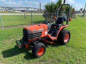 2000 Kubota B7400 Hst 4x4 Tractor Ex County Owned Video Of It Running