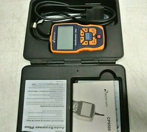 Actron Cp9580 Obdii Obd2 Enhanced Auto Scanner Plus User Guide