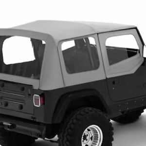 Bestop 51120 09 Replace A Top Clear Half Door Skins For 88 95 Jeep Wrangler Yj