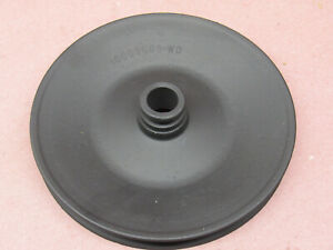 Oem 80 Pontiac Grand Prix 301 Engine Power Steering Pump Pulley Single Groove