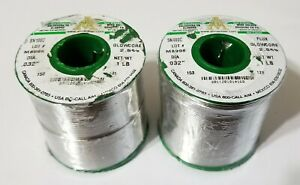2lbs Aim Sn100c Tin copper nickel Solder 032 No Clean Glowcore 2 5 Flux 14168