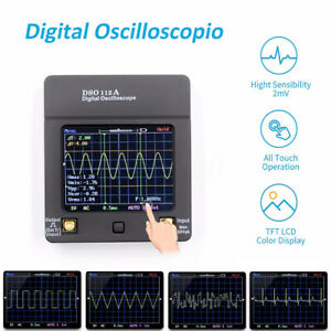 2 4 Dso112a Tft Lcd Digital Storage Oscilloscope Touch Screen 2mhz 5msps Usb