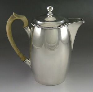 Antique 1770s Sheffield Fused Silver Plate Coffee Or Tea Pot