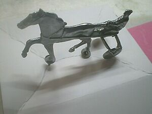 Vintage Horse And Jockey Chrome Hood Ornament Chevy Ford Hot Rods Rat Rods