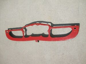 Mg Tf Steel Dashboard In Good Condition And Will Suit Either A Tf Or A Tf1500