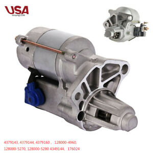 Higher Torque Starter For Mini Mopar Dodge Plymouth 318 360 400 Oe 4379143