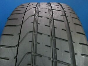 Used Pirelli P Zero 275 40zr 20 8 9 32 Tread 1524f