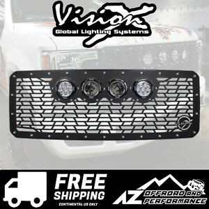 Vision X Light Cannon Vs Grille W Lights For 11 16 Ford Superduty 5062114