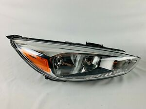 2015 2016 2017 2018 Ford Focus Right Passenger Halogen Headlight Oem W O Led