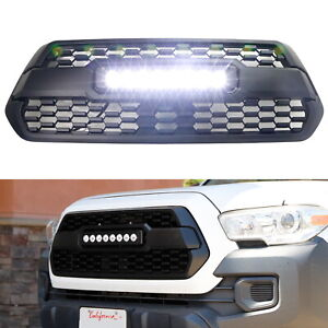 Oem Repace Trd Style 80w Cree Led Light Bar Grille Kit For 2016 Up Toyota Tacoma