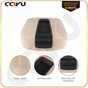 For 2007 09 Gmc Chevy Cadillac Pickup Beige Center Console Armrest Lid Assembly