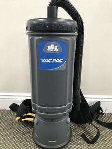 Windsor Vac Pac 10 Quart Hepa Backpack Commercial Vacuum Vp10