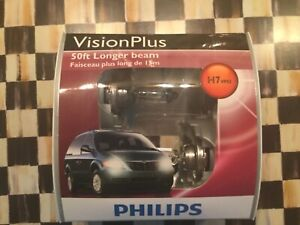 2x Germany Philips H7 Upgrade Vision Plus Ultra Bright 12972 Light Bulb 55w Lamp