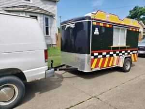 2018 6 X 12 Homesteader Inc Mobile Kitchen Food Concession Trailer For Sale In