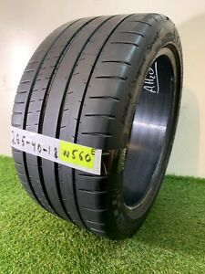 265 40 18 101y Used Tire Michelin Pilot Super Sport 81 8 1 32nds W560