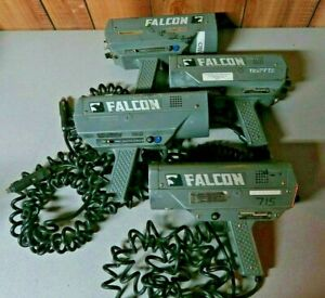Lot Of 4 Kustom Signals Falcon Traffic Radar Gun 24 15 Ghz