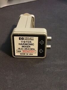 Hp 11970k Waveguide Harmonic Mixer 18 26 5 Ghz slightly Used