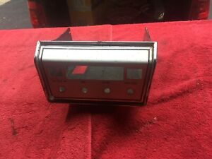 1967 Chevy Chevelle Corvair Impala Delco Radio 8 Track Stereo Player Housing