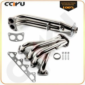 For 1994 1995 1996 1997 Honda Accord 2 2 4cyl Cd Exhaust header Manifolds 4 2 1