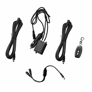 Electric Exhaust Cutout Remote Switch With 2 Cable Of Double Control Thread