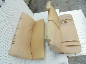 1976 Nova 2 Door Front Split Bench Seat With Headrests Tracks Rear Seat
