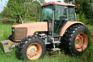 Make Offer Kubota M105s With Air 4wd Very Good Condition Low Hours