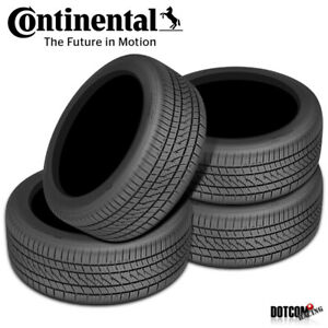 4 X New Continental Purecontact Ls 205 60r16 92v Tires