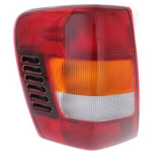 Ch2800150 Left Tail Light Lens And Housing Fits Jeep Grand Cherokee 2002 2004