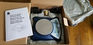 Ohaus Scout Pro Sp401 Electronic Scale 400g Pine Wood Derby Jewelry Postal