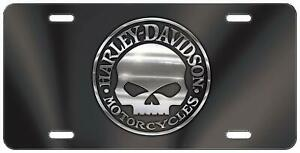 Personalized Car Tags Harley Davidson Skull Novelty Metal Aluminum License Plate
