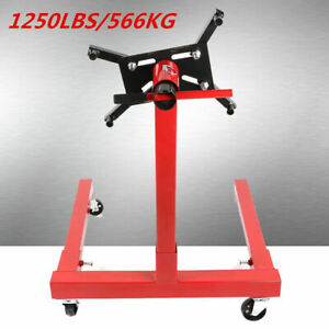 1250lbs Capacity Foldable Engine Stand Hoist Engine Support