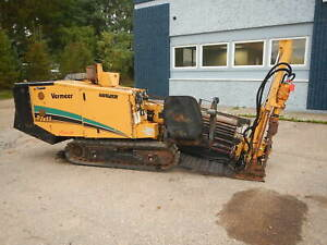 2005 Vermeer 7x11s2 Directional Drill Boring Hdd Drilling