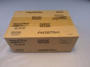 Ph2876ex Oil Filter Parts Plus Extended Life Case Of Six 6 Free Shipping