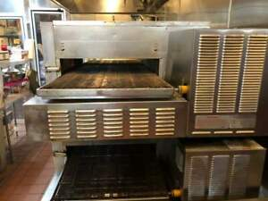 Lincoln Impinger Model 1150 Natural Gas Conveyor Double Stacked Pizza Oven