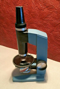 Vintage Bausch Lomb Zoom Microscope Viewer 25x 100x Zoom