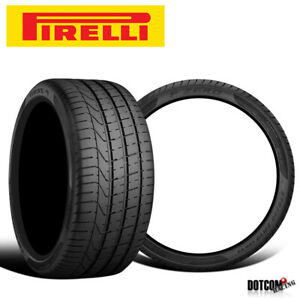 2 X New Pirelli Pzero 295 30zr20 101y N0 Xl Tires