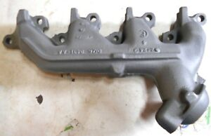 1971 Ford Mustang Torino Cougar 351c 2v Lh Driver Exhaust Manifold D1ze 8431 Aa