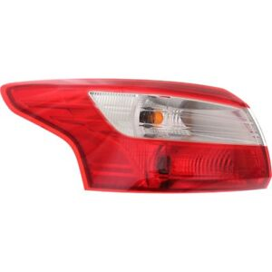 Fo2818151 Left Tail Light Lens And Housing Fits Ford Focus 2012 2014